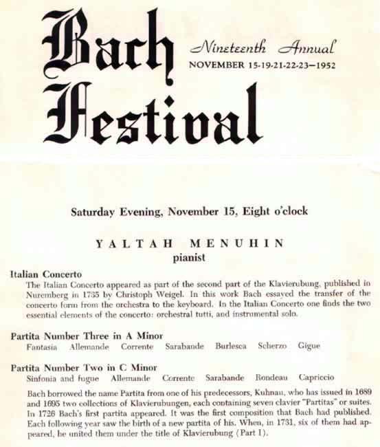 15 November 1952, Los Angeles, California, U.S.A.
